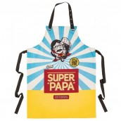 "Tablier cuisine ""Super papa"""