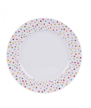 Table Passion - Lot de 6 assiettes plates 27 cm MANAOS