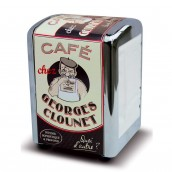 DISTRIBUTEUR DE SERVIETTES CAFE GEORGES CLOUNET
