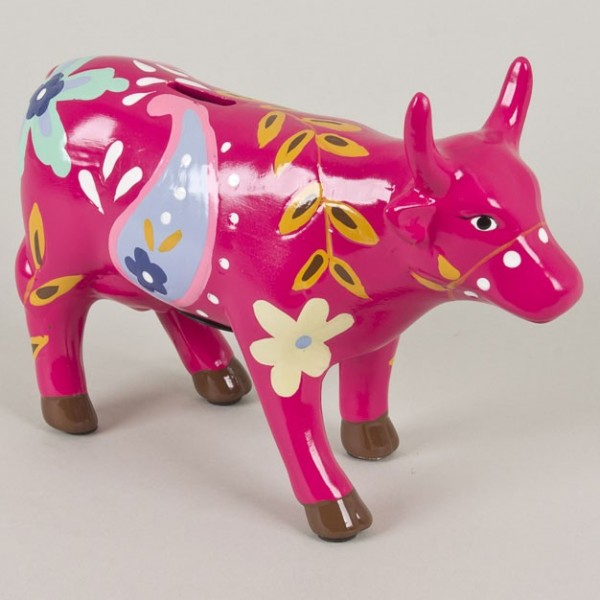 Tirelire vache fushia achat tirelire vache fushia pas for Decoration maison fushia