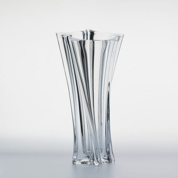 vase yoko cristal 33cm achat vase yoko cristal 33cm pas cher sur d co maison. Black Bedroom Furniture Sets. Home Design Ideas