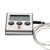 Minuteur/Thermo-sonde